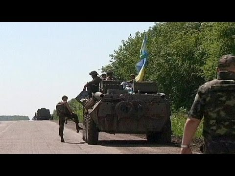 Ukraine claims troops end rebel blockade of Luhansk airport