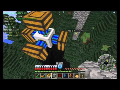 Minecraft 模組生存 26 - 石油開採