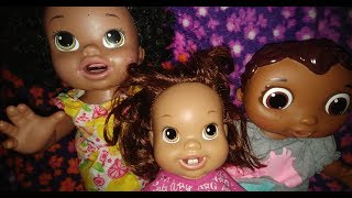NEW BABY DOLL CLOTHES, DANCING & LAUGHING..!  BIG FUN!