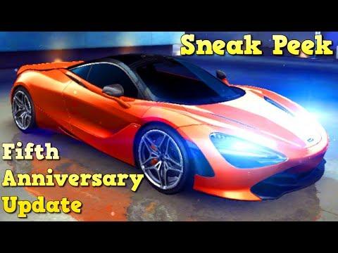 720S & MORE! Fifth Anniversary Update (Sneak Peak) Asphalt 8