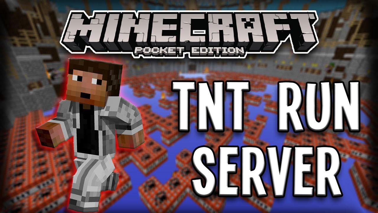 Сервера Майнкрафт 1.8 с мини-игрой TNT Run - мониторинг ...