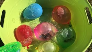 Sea Animals Water Balloons Bubbles Surprise Toys Nursery Rhymes Kids Learning