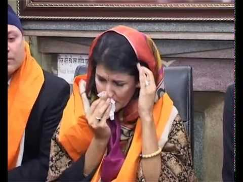 South Carolina Governor Nikki Haley gets nostalgic after visiting Golden Temple in Amritsar