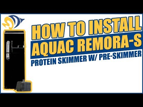 How to Install the AquaC Remora-S Protein Skimmer w/ Pre-Skimmer