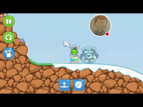 Let's play BAD PIGGIES: The End of The Road to El Porkado
