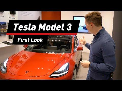 Tesla Model 3 im Check! COMPUTER BILD stellt das E-Auto vor
