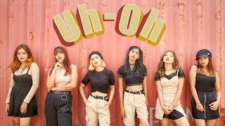 [1THEK DANCE COVER CONTEST] (G)I-DLE ((여자)아이들) - UH OH DANCE COVER BY QUEEN PANDA INDONESIA