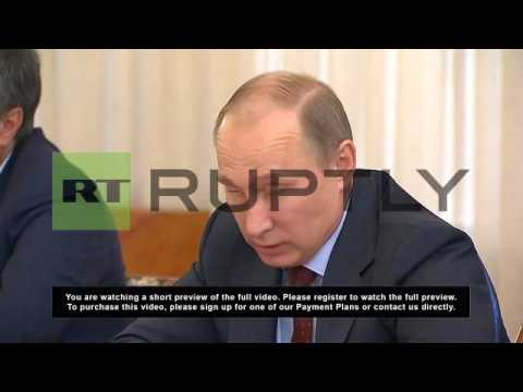 Russia: Russia needs to protect itself from GMOs - Putin