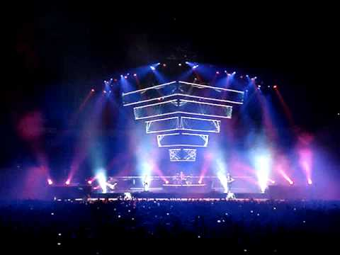 Muse Knights of Cydonia Madrid Palacio de los Deportes