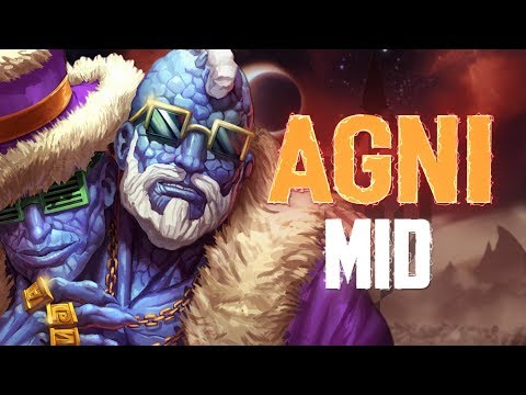 Agni Mid: WE SWAGNI LATE GAME BOYS! - Incon - Smite