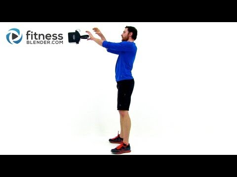 Kettlebell Til You Drop - 40 Minute Killer Total Body Kettlebell Workout Routine Image 1