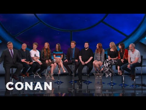 """Game Of Thrones"" Cast Interview Part 1  - CONAN on TBS"