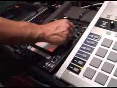 DJing to a live band w/ MV-8000 and CDJ-800