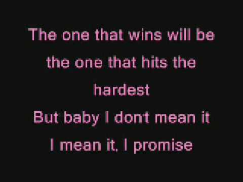 Pink - please don't leave me lyrics