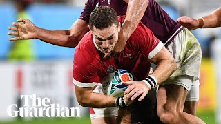 Rugby World Cup: Wales put six past Georgia in 43-14 victory