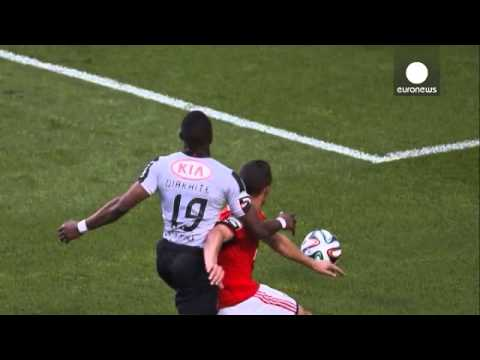 Benfica crowned Portuguese champions