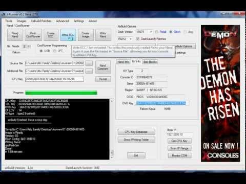Xbox 360 RGH2.0 Tutorial Part 7