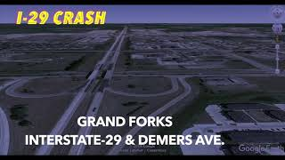 Early Monday Morning Crash On Interstate-29 At Grand Forks