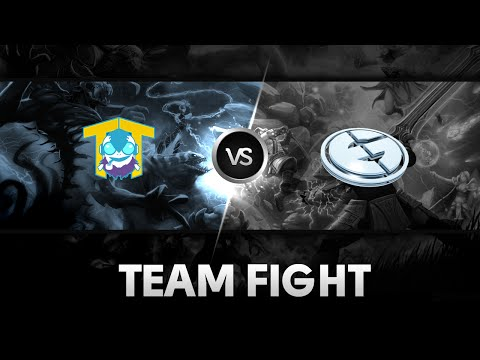 Team fight by EG vs TT @XMG Captains Draft Season 2