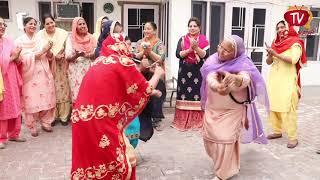 Funny Gidha Malve Da | Funny Gidha Bollian | Kirat singh | Parvinder Kaur | Chankata Tv