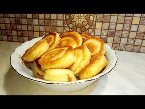 Рецепты быстрых оладьев на кефире
