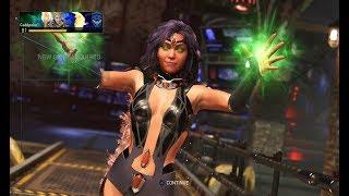 "Injustice 2 Lvl 20 Starfire ""Blackfire"" Gameplay"