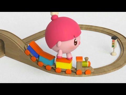 Малышарики - Умные песенки - Далеко и близко - мультфильм для самых маленьких
