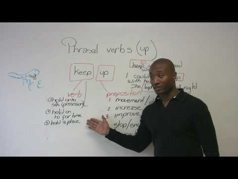 English Grammar - All about phrasal verbs!