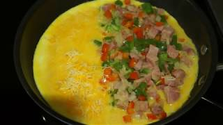 Western Omelet Easy Step By Step Chef