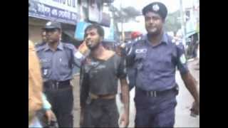 Awami Brutal Police Action on Peacefull Rally in Joypurhat, Bangladesh
