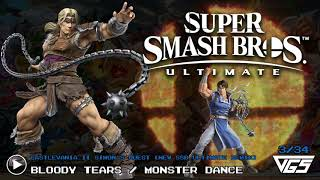 All Castlevania Songs Super Smash Bros Ultimate Ost 34 Tracks