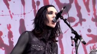 MOTIONLESS IN WHITE Reincarnate live Download Fest 2015 HD DVD PRO SHOT