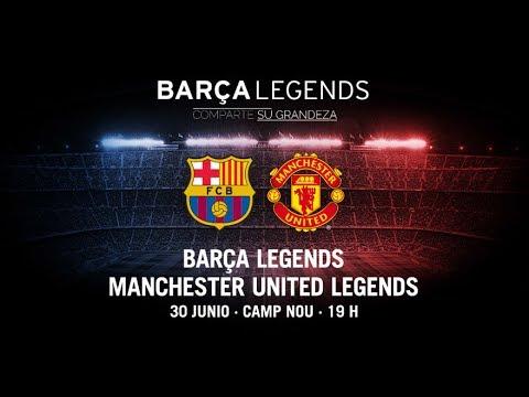 Barcelona Legends Vs Manchester United Legends 1-3 ''ÖZET''