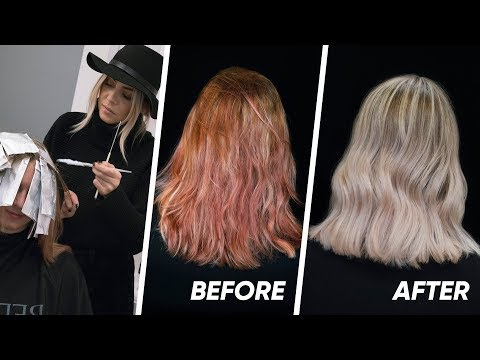Extreme Hair Color Correction - Step by Step