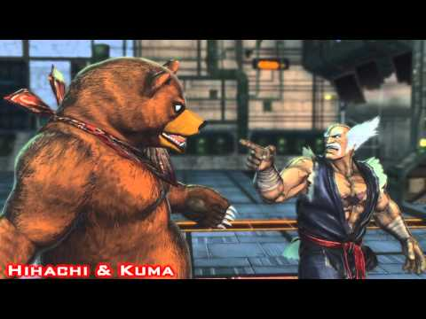 Street Fighter x Tekken - All Tekken Team Intros