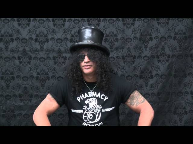 #AskSlash Episode 6, Up Close and Personal
