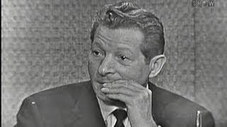 What's My Line? - Danny Kaye; Tony Randall [panel] (Oct 16, 1960)