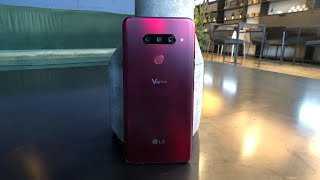 LG V40 Hands-On: Five Camera Action
