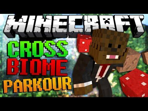 Minecraft Cross Biome Parkour w/ BajanCanadian