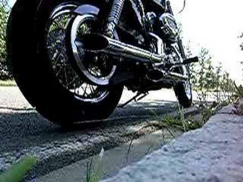 Harley Davidson Sportster '07 Krhome Werks mufflers