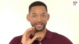 Will Smith Teases Bossy Margot Robbie