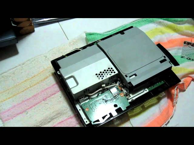 Ps3 Fat Disassembly ▶ Ps3 Disassembly Fat