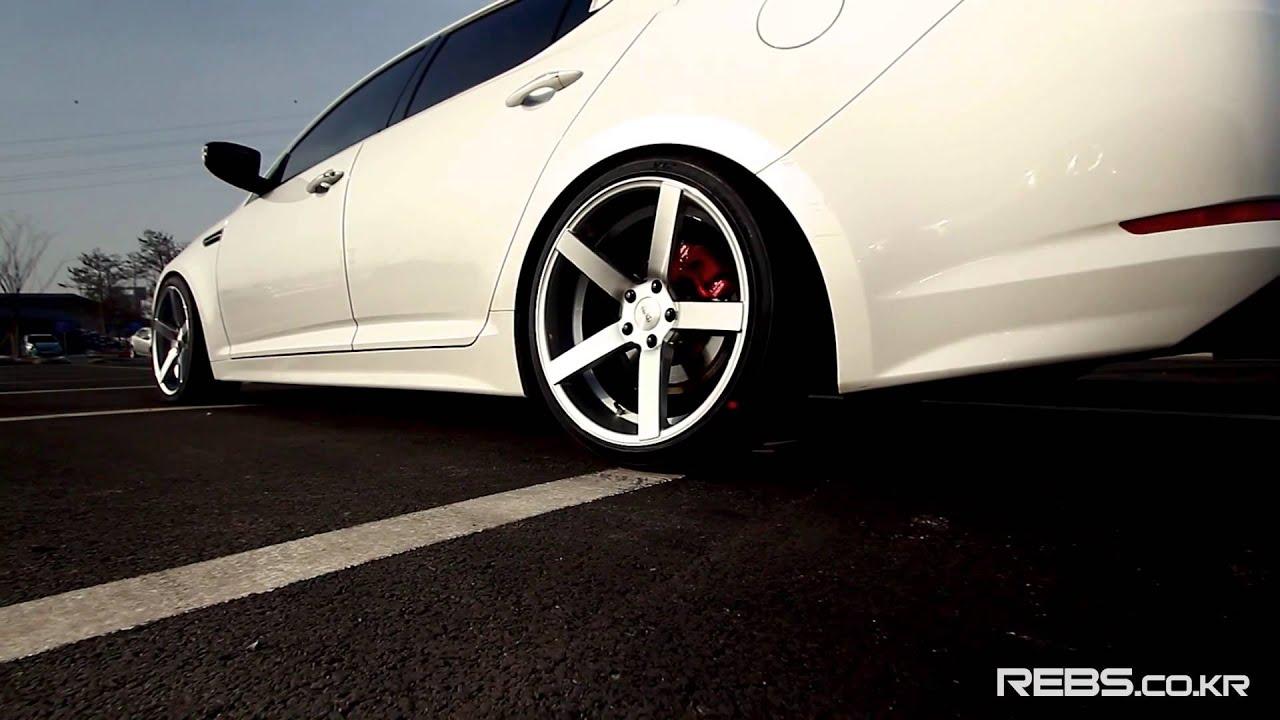 Kia Optima K5 Gdi Turbo On Rebs Rs Evo 19 Rims Youtube