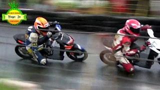 Road Race 2017 DUEL SERU Aldi Rima VS Hisyam Julian Class MATIC 150 CC TU PEMULA