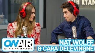 Cara Delevingne & Nat Wolff Talk