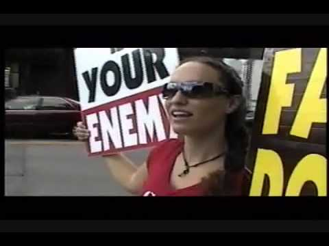 Westboro Baptist Church. Megan Phelps on Priest pedophilia and the difference between ceremonial and moral law.