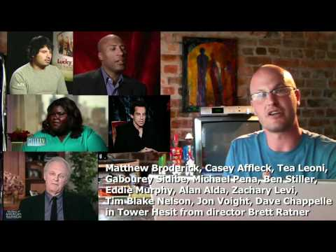 Tower Heist - Broderick,Affleck,Leoni,Sidibe,Pena,Stiller,Murphy,Ratner - Tyrone Rubin Film Show