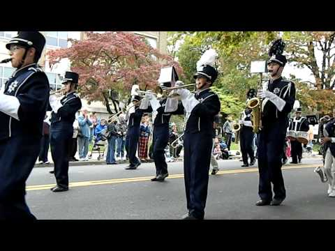 "Salisbury High School Marching Band - Allentown 250 ""Points Of Pride"" Parade - 9/29/12"