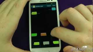 Samsung Galaxy S3 - Message App Customisation & Settings