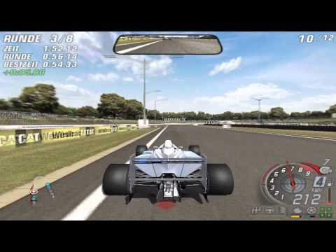 Let's Play Together DTM Race Driver 3 [HD] - #35 Windschattenrekord auf dem Barbagallo Raceway